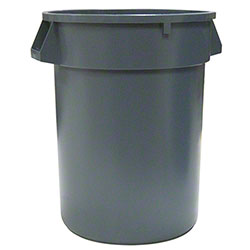 Waste Receptacle Container - 10 Gal., Grey