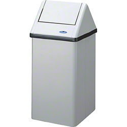 Frost™ Medium Free Standing Waste Receptacle - 21 Gal.