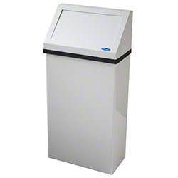 Frost™ Wall Mounted Waste Receptacle - 13.2 Gal.