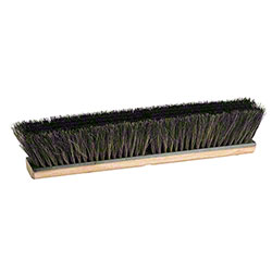 M2 Professional Fine Sweep Horsehair Push Broom - 36""
