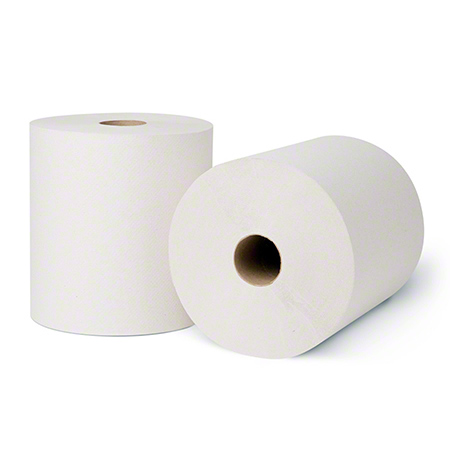 "Merfin® TAD White Roll Towel - 7.5"" x 600'"
