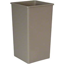 Rubbermaid® Untouchable® Square Container-50 Gal., Beige