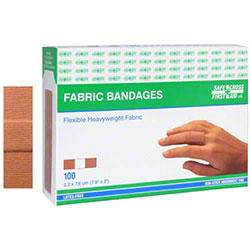 Safecross® Heavyweight Fabric Bandages - 100 ct.