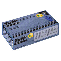Wayne Tuff® Cobalt Blue Disposable Nitrile Glove - XL
