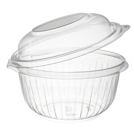 Dart® PresentaBowls® Clear Hinged Bowl w/Dome Lid-16 oz.