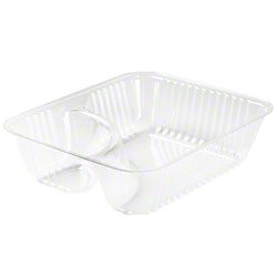 Dart® ClearPac® Container - Small Nacho Tray, Clear