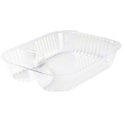 Dart® ClearPac® Container - Large Nacho Tray, Clear