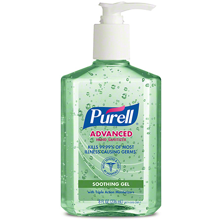 GOJO® Purell® Advanced Hand Sanitizer w/Aloe Gel