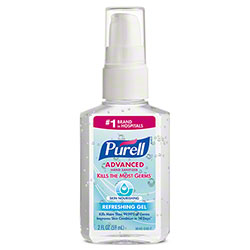 GOJO® Purell® Advanced Hand Sanitizer Skin Nourishing Gel - 2 oz. Pump