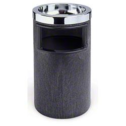 Rubbermaid® Classic Ash/Trash Smoking Urn -  Black