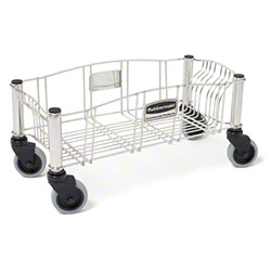 Rubbermaid® Slim Jim® Dolly - Stainless Steel