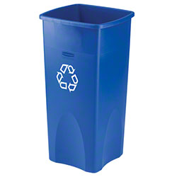 Rubbermaid® Untouchable® Square Recycling Container
