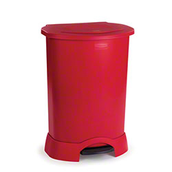 Rubbermaid® Step-On Container - 30 Gal., Red