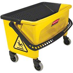Rubbermaid® Yellow Press Wring Bucket