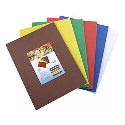 Winco® Cutting Board Set - Assorted Colors