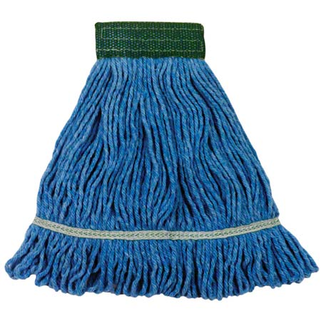Wilen® Super Crown™ Looped End Mop - Small, Blue, 5
