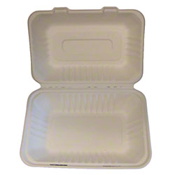 PrimeWare® Hoagie Hinged Lid Container
