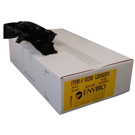 ENVIRO Low Density Liner - 43 x 47, 4 mil, Black