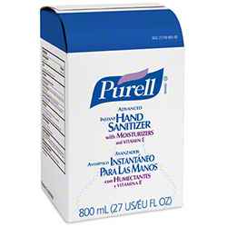 GOJO® Purell® Advanced Hand Sanitizer Gel - 800 mL BIB