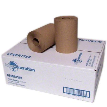 New Generation™ Kraft Hardwound Roll Towels