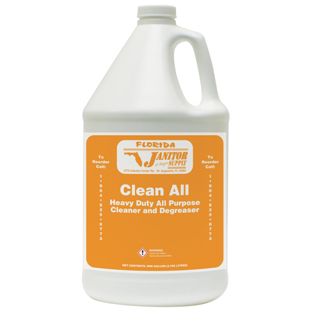 Clean All Heavy Duty All Purpose Cleaner & Degreaser - Gal.