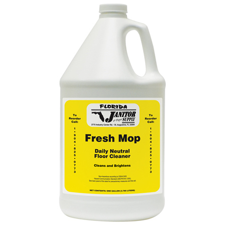 Fresh Mop Daily Neutral Floor Cleaner - Gal.