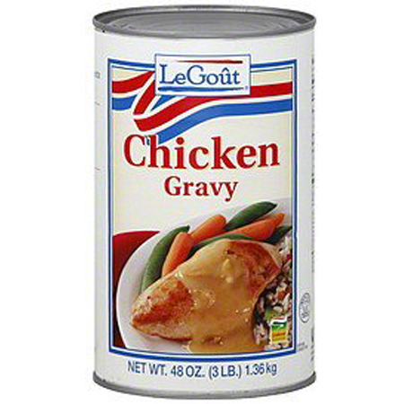 LeGout Chicken Gravy - 48 oz.