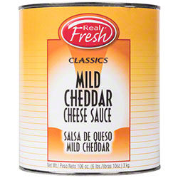 Real Fresh® Mild Cheddar Cheese Sauce - 6/Gal.