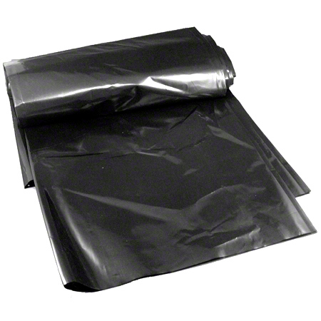 High Density Black Roll Liner - 38 x 60, 22 mic