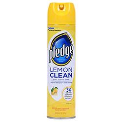 Pledge® Lemon Clean Furniture Spray - 9.7 oz.