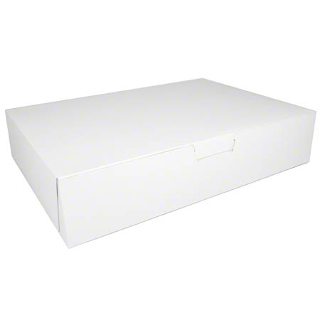 Southern Champion Lock Corner Sheet Cake Box - 19 x 14 x 4