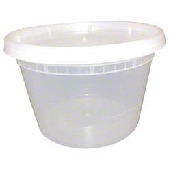 Tripak Plastic Soup Container Combo - 16 oz.