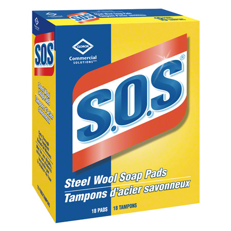 Clorox Commercial Solutions® S.O.S.® Steel Wool Soap Pad