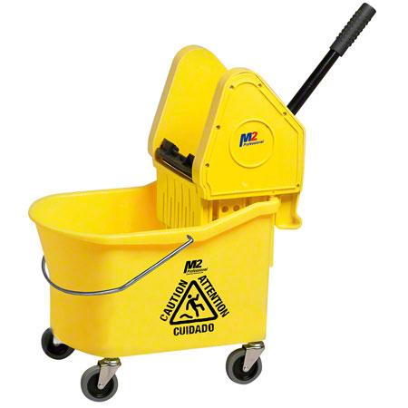 M2 Professional Grizzly Downpress Combo - 32 Qt., Yellow