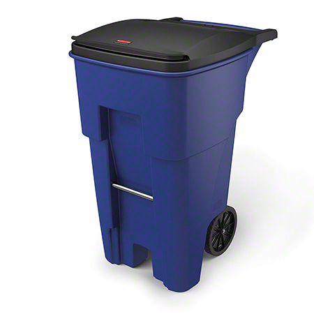 Rubbermaid® Brute® Rollout Recycling Container - 65 Gal.