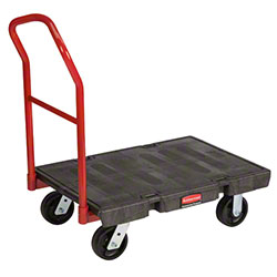 "Rubbermaid® Heavy Duty Platform Truck - 36"" x 24"", 6"" TPR"