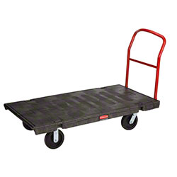 "Rubbermaid® Heavy Duty Platform Truck - 60"" x 30"", 8"" TPR"