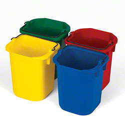 Rubbermaid® Five Quart Disinfecting Pail - Set of 4 Colors