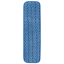 "Rubbermaid® HYGEN™ Microfiber Damp Room Mop -18"", Blue"