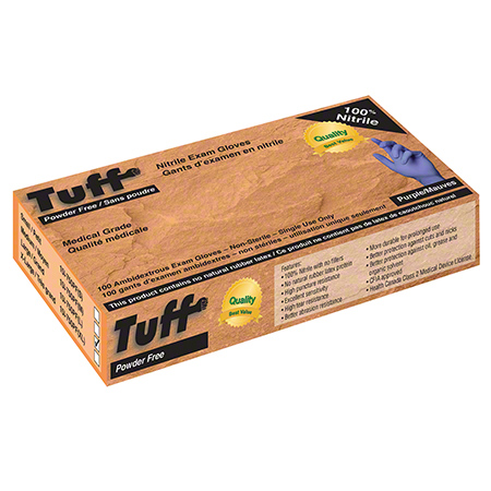 Wayne Tuff® 3 mil Nitrile Disposable Glove - Large