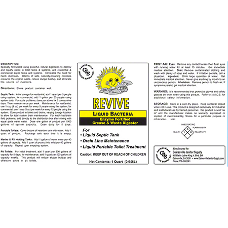 Revive Liquid Enzyme - Qt.