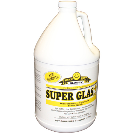 Super Glas Plus Floor Finish - Gal.