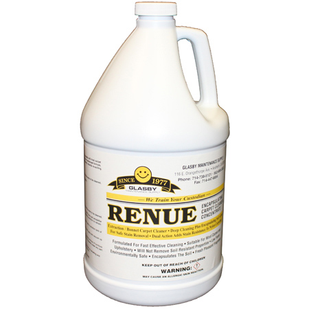 Renue Carpet Cleaner Encapsulator Concentrate - Gal.