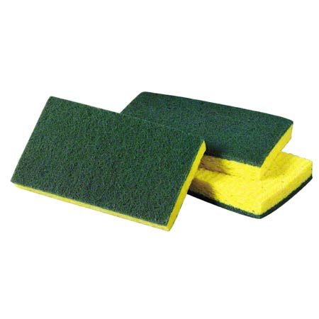 #74 SCOTCH-BRITE MEDIUM DTY SCRUB SPONGE 20/CS