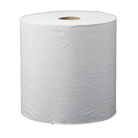 OPTIMA UNIVERSAL ROLL TOWEL WHITE 8x600 12/CS