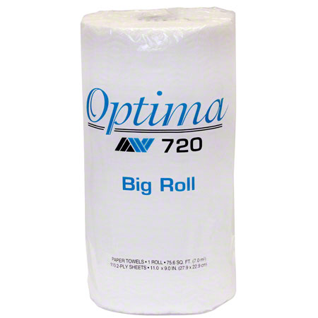 OPTIMA PREMIUM PERFORATED ROLL TOWEL 9X11 24/110