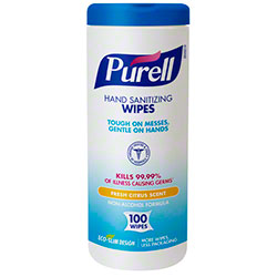 GOJO® Purell® Hand Sanitizing Wipe - 100 ct.