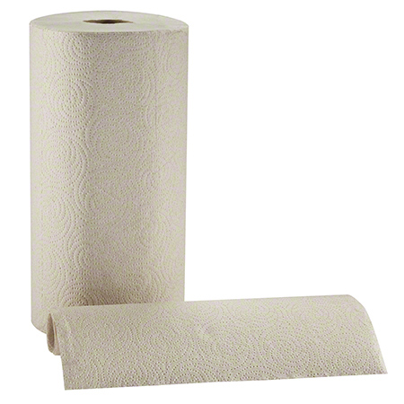 ENVISION PERFORATED ROLL TOWEL BROWN 12/250