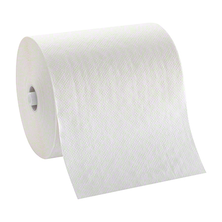CORMATIC ROLL TOWEL 8.25x700 WHITE 6/CS