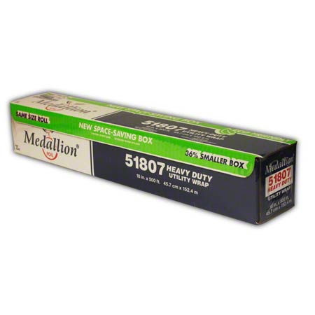 HEAVY DUTY FOIL MEDALLION 18x500 ROLL